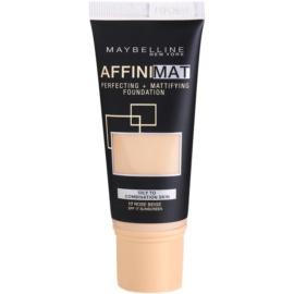 Maybelline AffiniMat base matificante tom 17 Rose Beige 30 ml