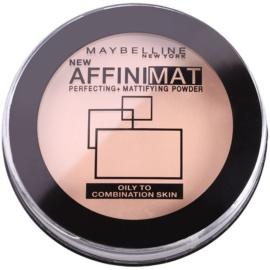 Maybelline AffiniMat púder matt hatásért árnyalat 20 Nude Beige  16 g