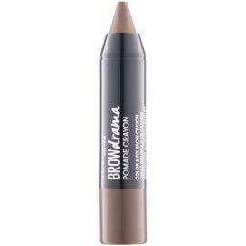 Maybelline Brow Drama Augenbrauen-Pomade Farbton Dark Brown  1,3 g