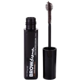 Maybelline Brow Drama tvarující řasenka na obočí odstín Dark Brown 7,6 ml