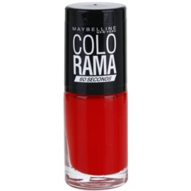 Maybelline Colorama 60 Seconds rychleschnoucí lak na nehty odstín 321 7 ml