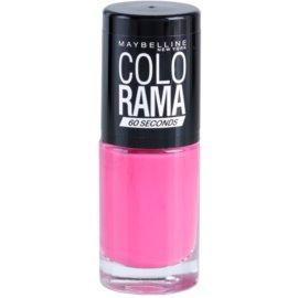 Maybelline Colorama 60 Seconds rychleschnoucí lak na nehty odstín 317 7 ml