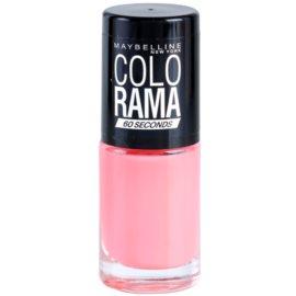 Maybelline Colorama 60 Seconds rychleschnoucí lak na nehty odstín 315 7 ml