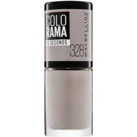 Maybelline Colorama 60 Seconds esmalte de uñas de secado rápido tono 328 Street 7 ml