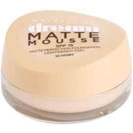 Maybelline Dream Matte Mousse mattító make-up árnyalat 10 Ivory 18 ml
