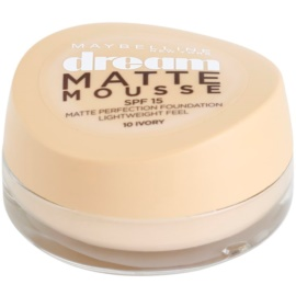Maybelline Dream Matte Mousse mattító make-up árnyalat 10 Ivory 18 ml