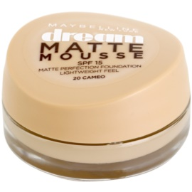 Maybelline Dream Matte Mousse mattító make-up árnyalat 20 Cameo 18 ml