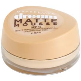 Maybelline Dream Matte Mousse mattító make-up árnyalat 21 Nude 18 ml