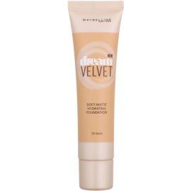 Maybelline Dream Velvet hedvábně jemný make-up s matným efektem odstín 30 Sand 30 ml