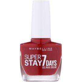 Maybelline Forever Strong Super Stay 7 Days lak na nehty odstín 06 Rouge Profond 10 ml