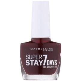 Maybelline Forever Strong Super Stay 7 Days lak za nohte odtenek 287 Rouge Couture 10 ml
