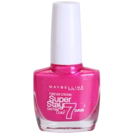 Maybelline Forever Strong Super Stay 7 Days lak na nehty odstín 155 Bubble Gum 10 ml