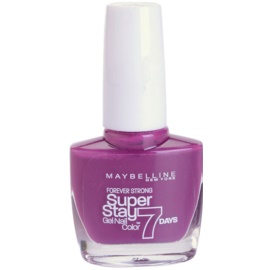 Maybelline Forever Strong Super Stay 7 Days lak na nehty odstín 230 Berry Stain 10 ml