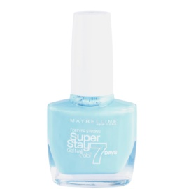 Maybelline Forever Strong Super Stay 7 Days lak za nohte odtenek 20 Uptown Blue 10 ml