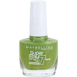 Maybelline Forever Strong Super Stay 7 Days Megawatt körömlakk árnyalat 660 Lime Me Up 10 ml