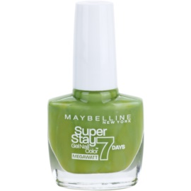 Maybelline Forever Strong Super Stay 7 Days Megawatt verniz tom 660 Lime Me Up 10 ml