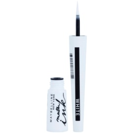 Maybelline Master Ink течни очни линии цвят 11 Matte White