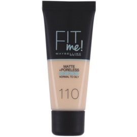 Maybelline Fit Me! Matte+Poreless make up odcień 110 Porcelain 30 ml