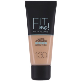 Maybelline Fit Me! Matte+Poreless make up odcień 130 Buff Beige 30 ml