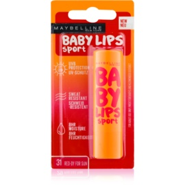 Maybelline Baby Lips Sport Moisturising Lip Balm SPF 20 Color 31 Red-Dy for Sun  4,4 g