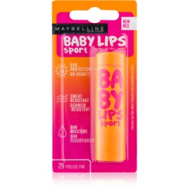 Maybelline Baby Lips Sport Moisturising Lip Balm SPF 20 Color 29 Poolside Pink  4,4 g