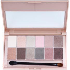 Maybelline The Blushed Nudes paleta očních stínů odstín Nude 9,6 g