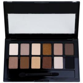 Maybelline The Nudes paleta očních stínů  9,6 g