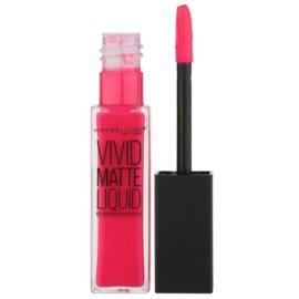 Maybelline Color Sensational Vivid Matte Liquid flüssiger Lippenstift mit Matt-Effekt Farbton 15 Electric Pink 8 ml