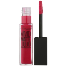 Maybelline Color Sensational Vivid Matte Liquid рідка помада з матуючим ефектом відтінок 40 Berry Boost 8 мл