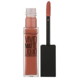 Maybelline Color Sensational Vivid Matte Liquid ruj de buze lichid cu efect matifiant culoare 50 Nude Thrill 8 ml