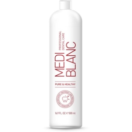MEDIBLANC Pure & Healthy enjuague bucal para un aliento fresco y duradero  500 ml