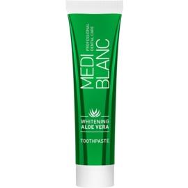 MEDIBLANC Whitening Aloe Vera regeneracijska zobna pasta z belilnim učinkom  100 ml