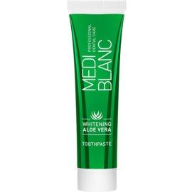 MEDIBLANC Whitening Aloe Vera pasta de dentes regeneradora com efeito branqueador  100 ml