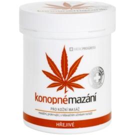 MEDICPROGRESS Cannabis Care konopná mastička hrejivá  250 ml