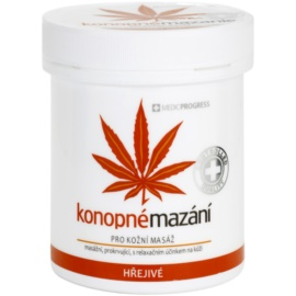 MEDICPROGRESS Cannabis Care konopná mastička hrejivá  250 ml