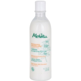 Melvita Anti-dandruff sampon anti-matreata pentru toate tipurile de par  200 ml