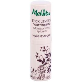 Melvita Argan Oil балсам за устни за подхранване и хидратация  3,5 гр.