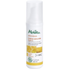 Melvita Apicosma lehký vyživující krém 3 Miels Honeys  40 ml