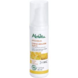 Melvita Apicosma lekki krem odżywczy 3 Miels Honeys  40 ml
