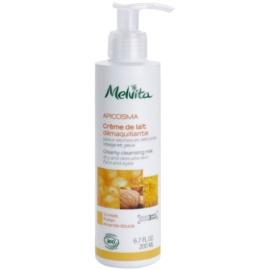 Melvita Apicosma Creme-Reinigungsmilch für Gesicht und Augen  200 ml