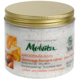 Melvita Apicosma telový peeling pre suchú pokožku  150 g