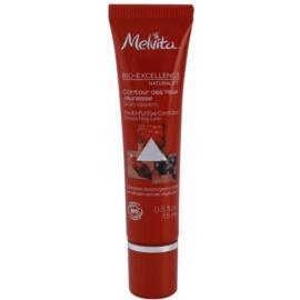 Melvita Bio-Excellence Naturalift verjüngende Augencreme mit glättender Wirkung (Smoothing Care) 15 ml
