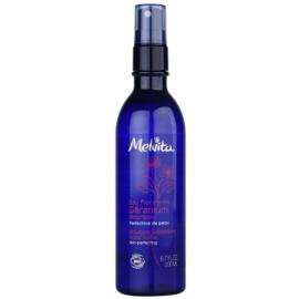Melvita Eaux Florales Géranium Bourbon Gesichtswasser im Spray für perfekte Haut  200 ml