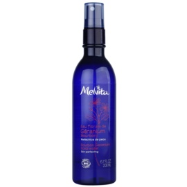 Melvita Eaux Florales Géranium Bourbon pleťová voda ve spreji pro perfektní pleť  200 ml