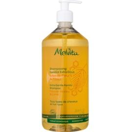Melvita Hair champô suave extra para toda a família  1000 ml