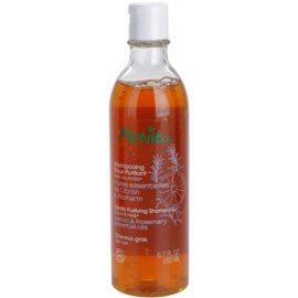 Melvita Hair jemný čisticí šampon pro mastné vlasy  200 ml
