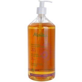 Melvita Hair champô extra-suave para cabelo e corpo  Fig & Kiwi 1000 ml