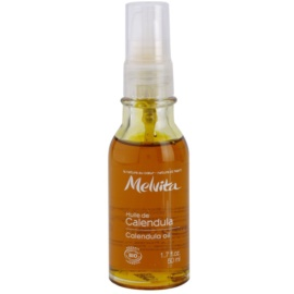 Melvita Huiles de Beauté Calendula zklidňující ochranný olej na obličej a tělo  50 ml