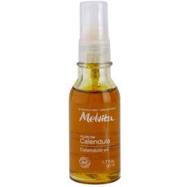 Melvita Huiles de Beauté Calendula upokojujúci ochranný olej na tvár a telo  50 ml
