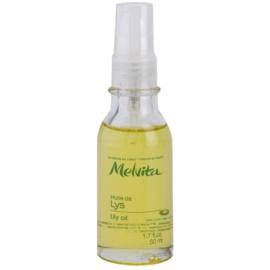 Melvita Huiles de Beauté Lys bőrvilágosító védő olaj arcra és kézre  50 ml